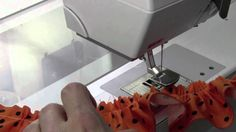 Where has this been all my life? Genius is the #16 Bernina Gathering foot. This is going to save me  SO many hours!!