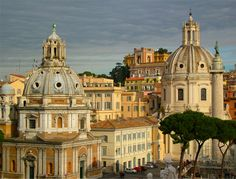 Rome.  My first international city ever visited.  It was boiling hot!