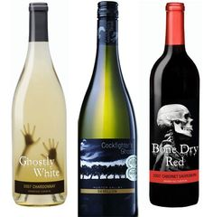 Naturally creepy wines...no changing of labels needed...