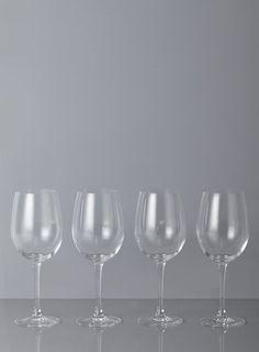 Royal Worcester Set Of 4 White Wine Glasses