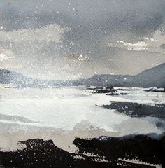 """""""Ardmore Point"""" by David Ross - ink landscape"""