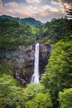 Cascade in Green by basilgreber via http://ift.tt/28Pw1ng