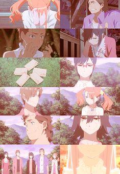 Anohana, Jintan, Menma, Anaru, Tsuruko, Yukiatsu, Poppo