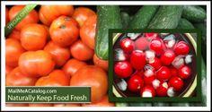 Naturally Keep Food Fresh
