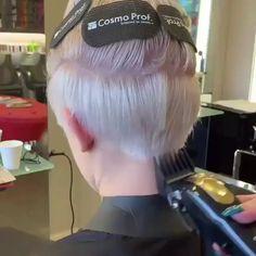 Short Hair Cut - - Kurzhaarschnitt - - - , Short Hair Cut - - , coiffure Mignon Source by Blonde Bob Hairstyles, Cute Hairstyles For Short Hair, Curly Hair Styles, Hairstyles 2016, Short Undercut Hairstyles, Undercut Pixie Haircut, Wedge Hairstyles, Hairstyles Videos, Haircut For Thick Hair