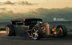 1931 K3-Projekt Ford Model-T rat rod hot rods retro    w wallpaper background