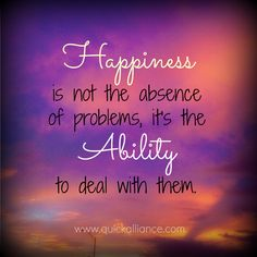 #Happiness is not th