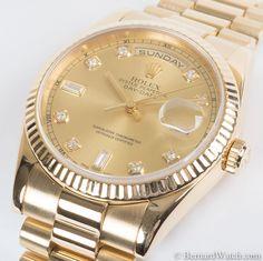 Rolex Day-Date President : 118238 : Bernard Watch