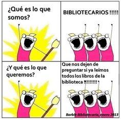 Bibliotecarios!!!