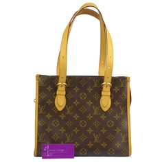 LV Popincourt Haut Monogram Canvas With Leather Fair Condition Ref.code-(GOTK-2) More Information Pls Email  (- luxuryvintagekl@ gmail.com )