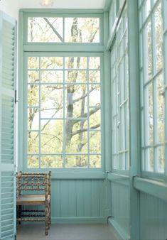 Sunroom ~ aqua/turquoise