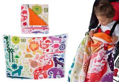 Weegoamigo Adventure Blanket - 123 - UrbanBaby-- these are the cutest blankets!! NEED!!!