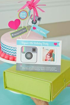 Instagram Party + printables by Anders Ruff