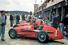 Nürburgring 1953 - Alberto Ascari and Mike Hawthorn - Ferrari 500