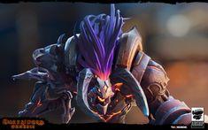 ArtStation - Darksiders: Genesis Havoc, DragonFly Studio