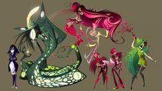 Vivziepop characters