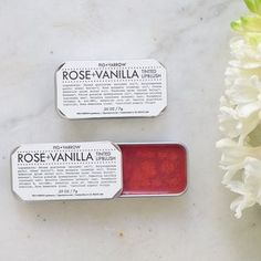 Organic Rose Vanilla Tinted Lip Blush
