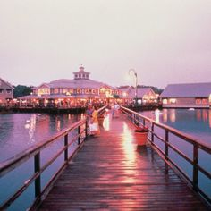 Barefoot Landing in Myrtle Beach. Lots of shopping and entertainment!