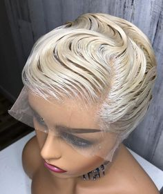 Cute short hairstyles wigs for black women lace front wigs human hair wigs african american wigs the same as the hairstyles in picture buy now Short Cut Wigs, Short Lace Front Wigs, Short Hair Wigs, Cute Hairstyles For Short Hair, Human Hair Wigs, Wig Hairstyles, Short Haircuts, Shaved Hairstyles, Trending Hairstyles