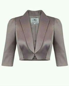 Chaqueta corta - #bllusademujer #mujer #blusa #Blouse
