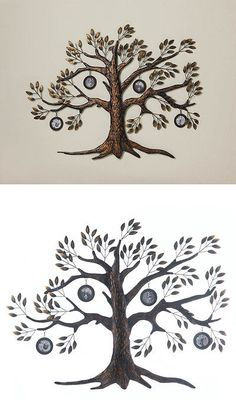 Wall Sculptures 166729: Iron Family Tree Photo Frame Wall Sculpture Decor 24 Tall New~10017181 -> BUY IT NOW ONLY: $38.94 on eBay!