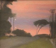 Clarice BECKETT, Evening landscape