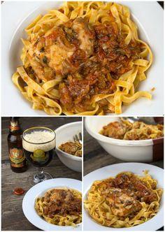 κοτοπουλο κοκκινιστο μακαρονια 8 Cookbook Recipes, Cooking Recipes, Italian Pasta, Yams, Greek Recipes, Poultry, Macaroni And Cheese, Main Dishes, Recipies