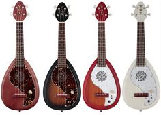 New! Vox Electric Ukuleles - Music Villa