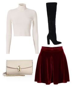 """velvet"" by paigey16 on Polyvore featuring WithChic, A.L.C., ALDO and Dolce&Gabbana"