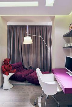 #Design d'intérieur Déco chambre enfant – une chambre moderne en violet #Déco #chambre #enfant #– #une #chambre #moderne #en #violet