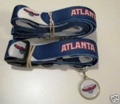Hunter Atlanta Hawks cat Combo Set (Collar, Lead, ID Tag) => Wow! I love this. Check it out now! : Cat Collar, Harness and Leash