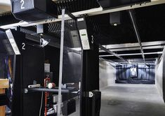 Private indoor residential pistol range? Oh dear heaven, yes.