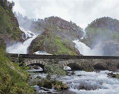 Top Norwegen Sehenswürdigkeit, der Latefossen, Foto: Johan Berge - Visitnorway.com