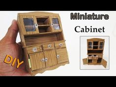 Miniature kitchen cabinet
