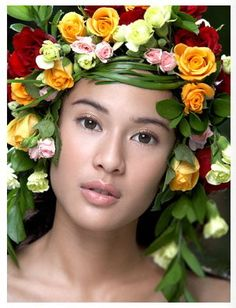 Indonesian Exotic Faces: Dian Sastrowardoyo