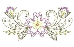 Rippled Bloom 1 - 3 Sizes! | Floral - Flowers | Machine Embroidery Designs | SWAKembroidery.com Ace Points Embroidery