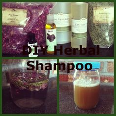 Healthy Roots, Happy Soul:  Herbal Shampoo
