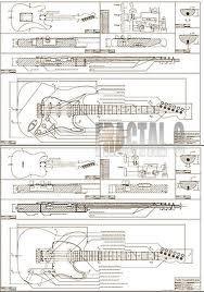 Full Scale Jazzmaster plans DIY  1299   Instruments
