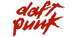 daft punk logo it's better on record sleeves or poster, but sure is cool, 80's style, and recognizable
