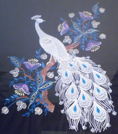Jacobian Peacock design from Hatched in Africa http://www.hatchedinafrica.com/detail.aspx?id=1667&c=21