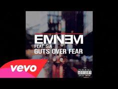 Eminem - Guts Over Fear (Audio) ft. Sia - YouTube