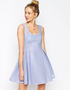 ASOS Structured Prom Skater Dress