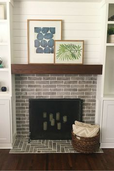 10 Sublime Useful Ideas: Fireplace Makeover tv over fireplace low.Fireplace Tile Beige fireplace and tv frame tv. Tv Over Fireplace, Fireplace Built Ins, Wood Fireplace, Living Room With Fireplace, Living Room Decor, Living Rooms, Fireplace Ideas, Fireplace Drawing, Fireplace Makeovers