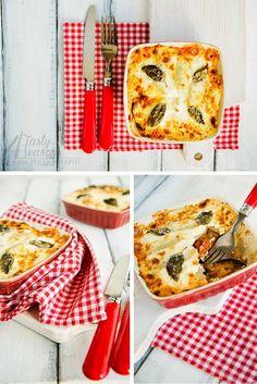 4 Tasty Seasons: Zapekaný baklažán so zemiakmi / Baked eggplant with potatoes