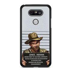 Indiana Jones Mugshot LG G5 Case Dewantary