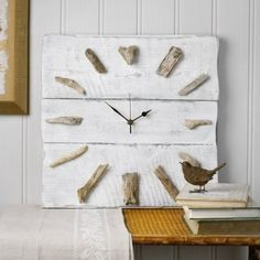 Andy Crafts Whitewash Timber & Driftwood Wall Clock Andy Crafts,http://www.amazon.com/dp/B00D7UCH0Q/ref=cm_sw_r_pi_dp_vB06sb10P28GT6JN