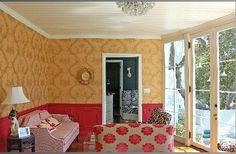 A formal sunroom