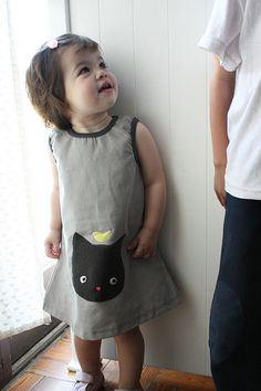Little girls dress. Cuteness.
