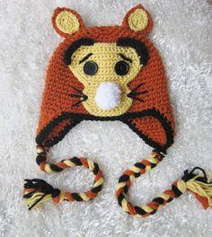 Tigger Hat Foto-Prop