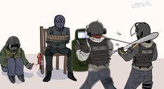 Rainbow 6 Seige, Rainbow Six Siege Memes, Rainbow Six Siege Art, Tom Clancy's Rainbow Six, Rainbow Art, Rambo 6, Dnd Funny, Military Art, Cute Gay